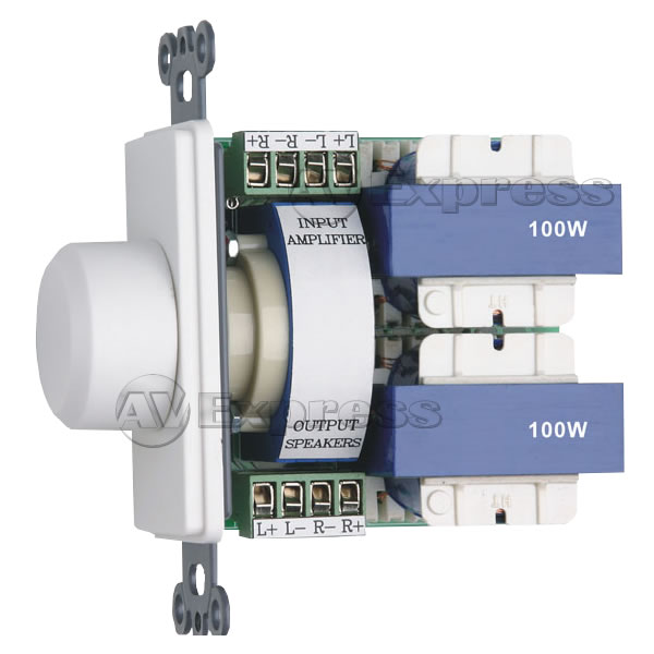 Volume Controls In Wall Stereo Volume Control Switch With