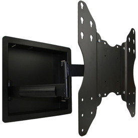 "Swivel a 55""TV up to 75 degrees"