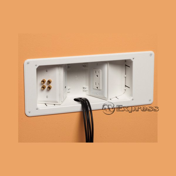recessed tv boxes av express rh av express com Home Depot Recessed TV Box arlington recessed tv wiring box