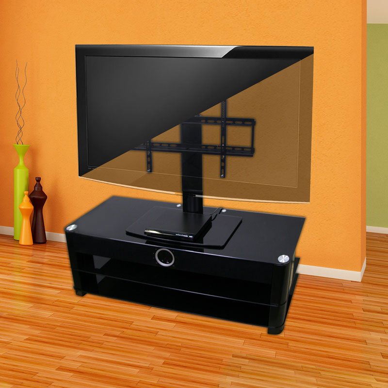 Superbe Universal Tabletop TV Stand With Swivel And Height Adjustable. Item #:  104 1924 OB | MPN: AEON 60111 | Condition: Open Box