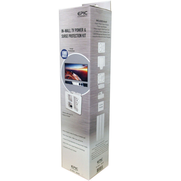 In wall surge protection kit EC-IWS3 by Epic Connect
