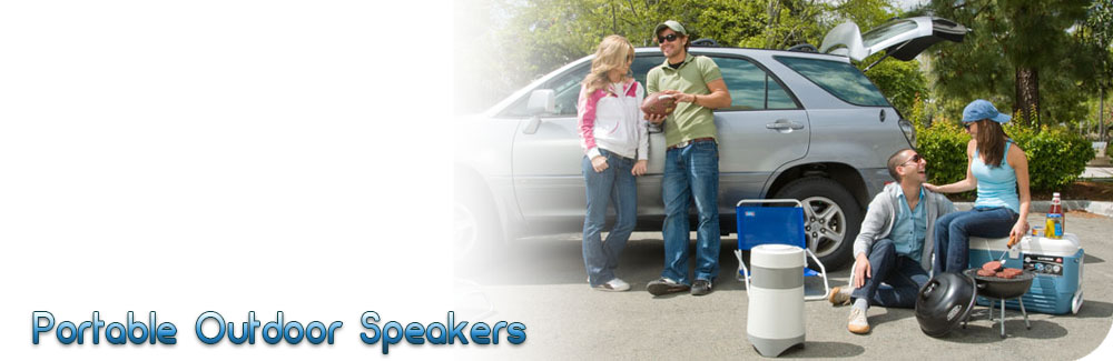 portable bluetooth speakers banner
