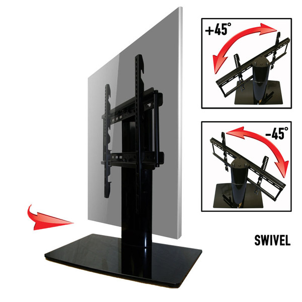 Universal Tabletop Tv Stand Aeon 60112 Swivel I Height