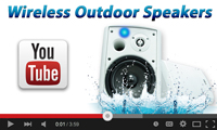 wireless outdoor speakers youtube channel