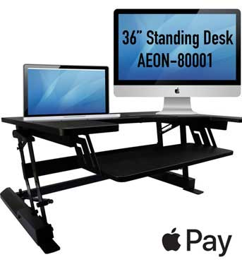Height Adjustable Sit/Stand Desk